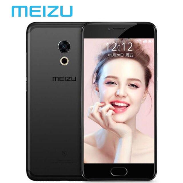 """На Складе в Исходном Meizu Pro 6 S 4 ГБ 64 ГБ Мобильный телефон Android Helio X25 Дека Core 5.2 """"1080 P 12.0 МП Сотовый Телефон M570Q-S"""