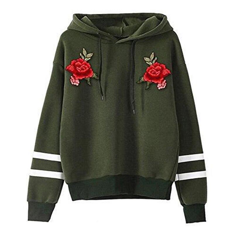 T-Shirt,Sweatshirt,Langarm Shirt Shirt mit Kapuze,Rose