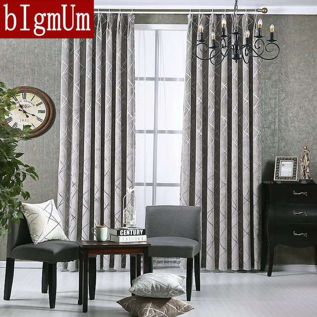 Aliexpress.com : Buy New Style Windows Curtains For Living Room ...