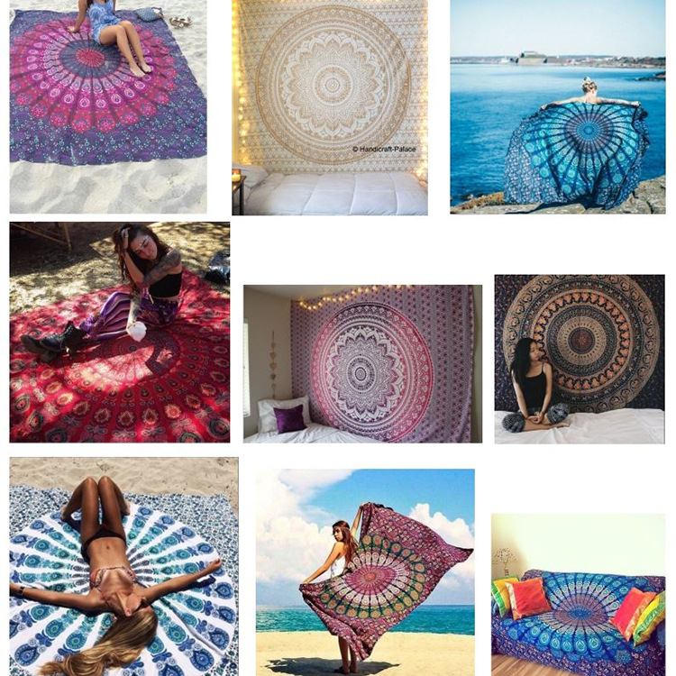 Summer Women Pareo Mats Print Beach Cover Up Swimwear Women Swimsuit Beach Sarong Bathing Suit Women Cover Ups Yoga Mat Pareo
