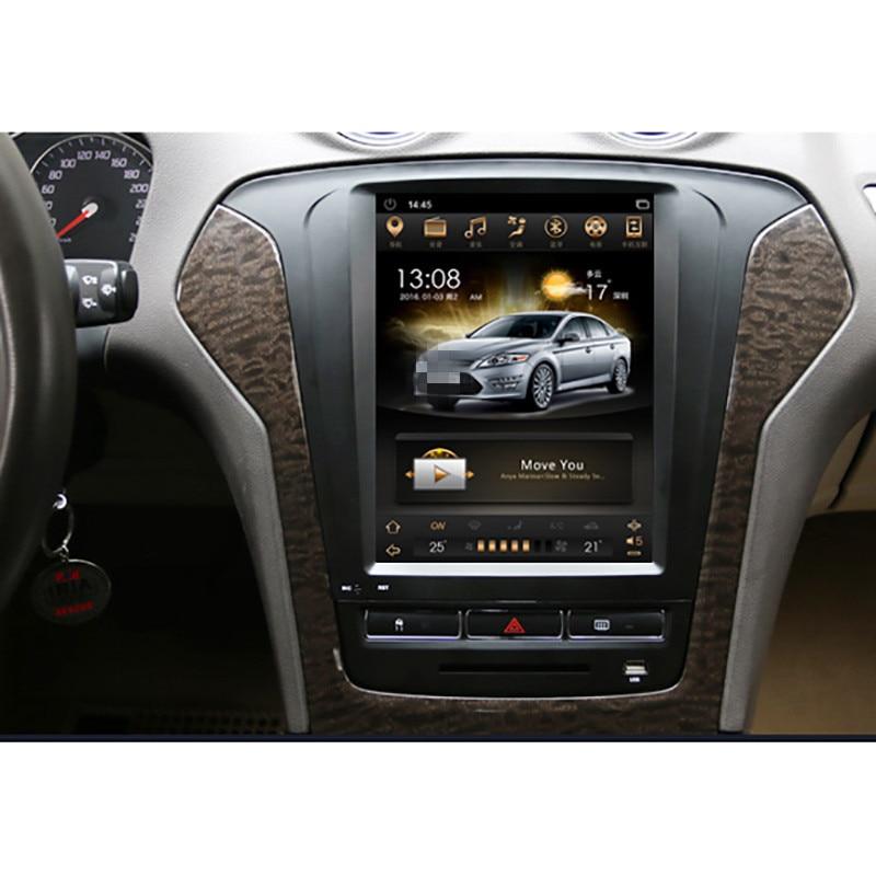 CHOGATH 10.4 ''android 7.1 Tesla ecran Vertical 2 + 32G autoradio GPS stéréo multimédia pour Ford Mondeo/fusion 2011 2012 2013