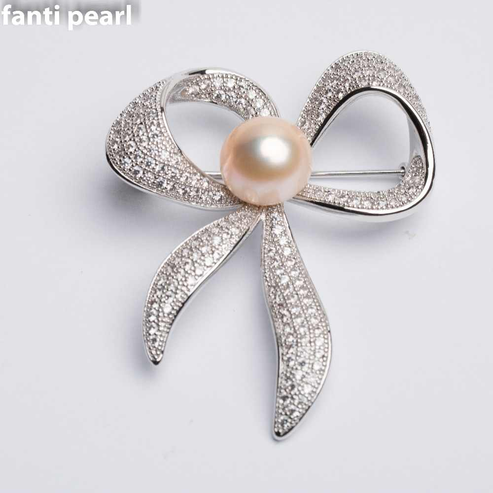 Cute bowknot Brooches alloy Jewelry Men Women's Corsage Clips For Suit Scarf Dress