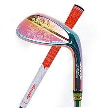 Kluby golfowe kliny Mythos kolorowy kolor 50/52/56/58/60 stopni wał stalowy ueunisex praworęczny Golf Clu