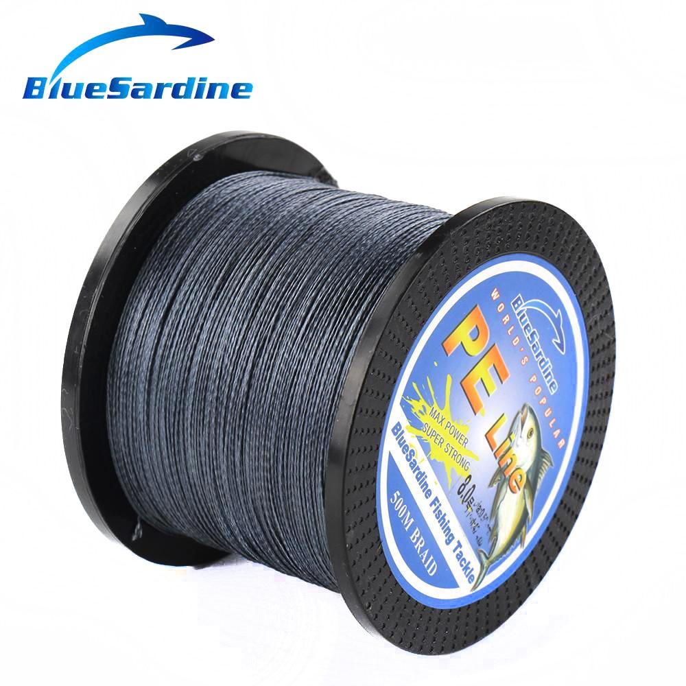 BlueSardine Örgülü Balıqçılıq Xətti 500M Multifilament PE - Balıqçılıq - Fotoqrafiya 5