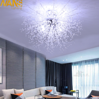 Современные акриловые светодиодные потолочные светильники NANS, потолочные светильники для ресторана, ktv, прохода, гостиной, балкона, лампа д
