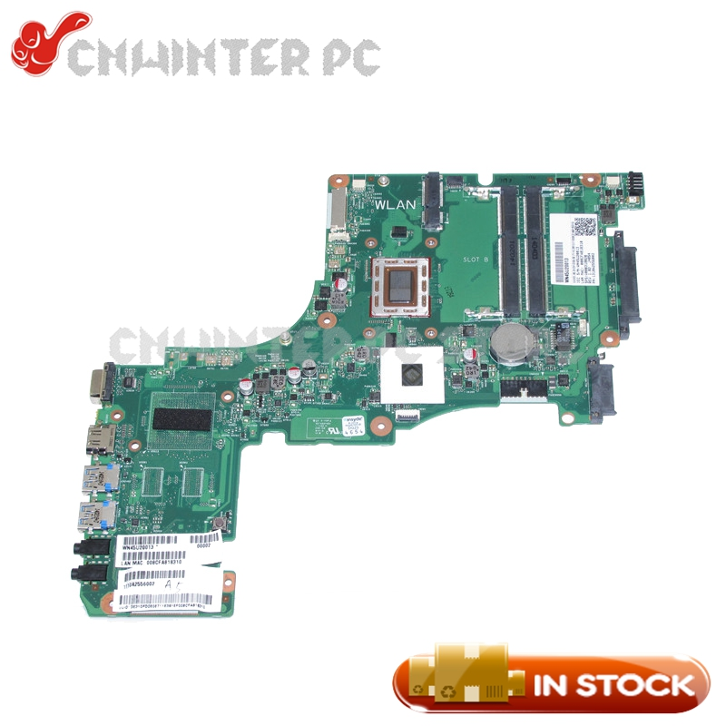 NOKOTION 1310A2556002 V000318020 MAIN BOARD For Toshiba Satellite S50 S50DT-A Laptop Motherboard A6-5345M CPU DDR3 стоимость