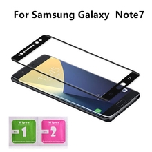 1Pcs For Samsung Galaxy Note7 5 7 3D Coverage Tempered Glass Screen Protector For Samsung Galaxy