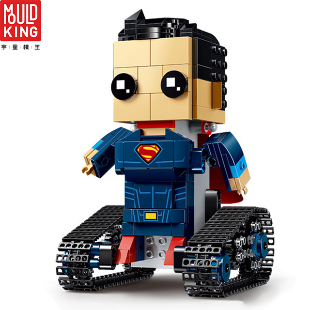 Mould king avengers super heroes action figure superman remote control building blocks movie toys for children lepin™ land