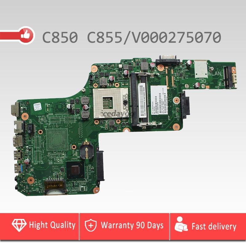 V000275070 東芝衛星 C850 C855 マザーボード 6050A2491301 MB A02 V000275070 HM76 USB3.0 メインボード 100% テスト  グループ上の パソコン & オフィス からの マザーボード の中 1