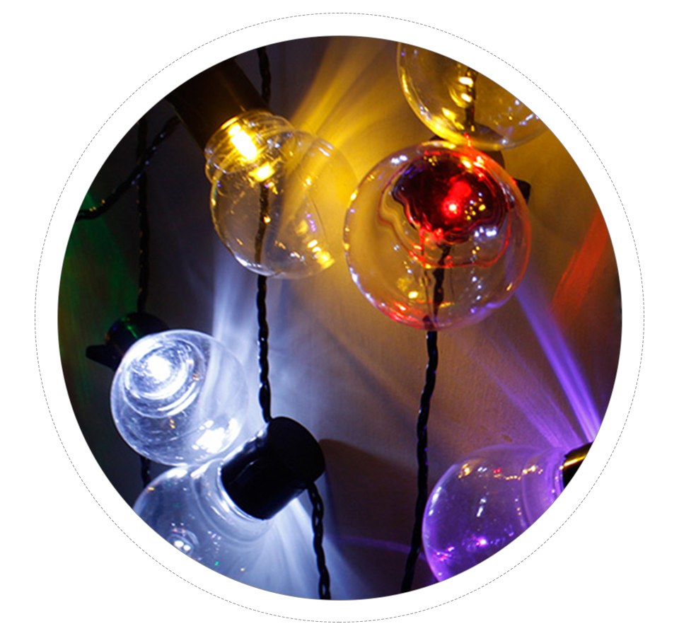 LED Solar Lawn Lamp Rechargeable Solar String Light 2.55M 1020 Bulb Waterproof Outdoor Garden Party Christmas Decor (14)