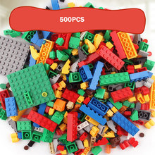 500 PCS Building Blocks Bricks Set Creator City DIY Creative Toys Educational Bulk Bricks Compatible With Legoed Block