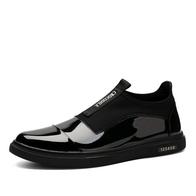 Super Homem Marca Quente Alta Qualidade Confortável Multi-cor Couro Genuíno Primavera/Outono Slip-On Pontas Do Dedo Do Pé ankle Boots