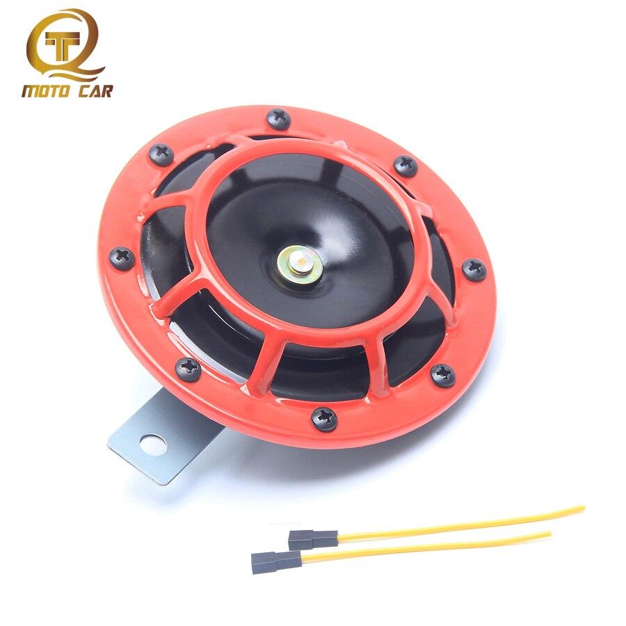 Universal Waterproof Motorcycle Horn 12V 400HZ Air Horn Compact Loud Compact Electric Blast Tone Air Horn Loud loudspeaker Basin serok ikan