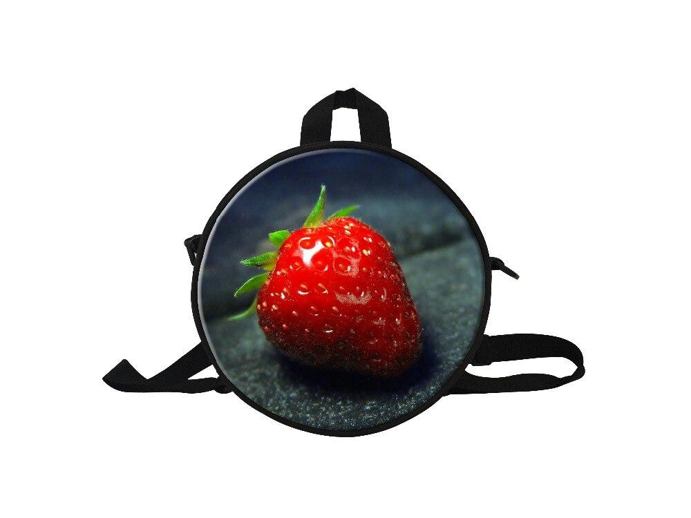 Принт с фруктами мини-рюкзак для девочек Дети Маленькие Мини рюкзаков для от 3 до 7 лет, детский сад мешок для путешествия ребенка