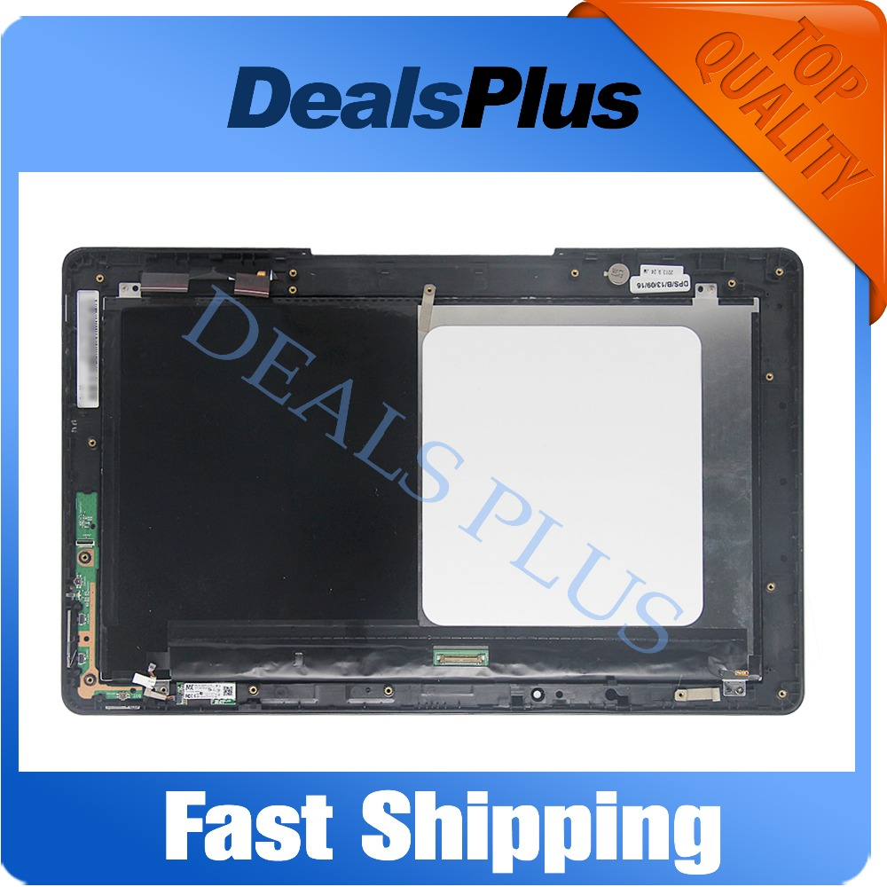 Replacement New LCD Display Touch Screen with Frame Assembly For ASUS Transformer Book T300 T300LA JA-DA5404RB Free Shipping new lcd display touch screen digitizer assembly for htc one m9 with frame replacement free shipping