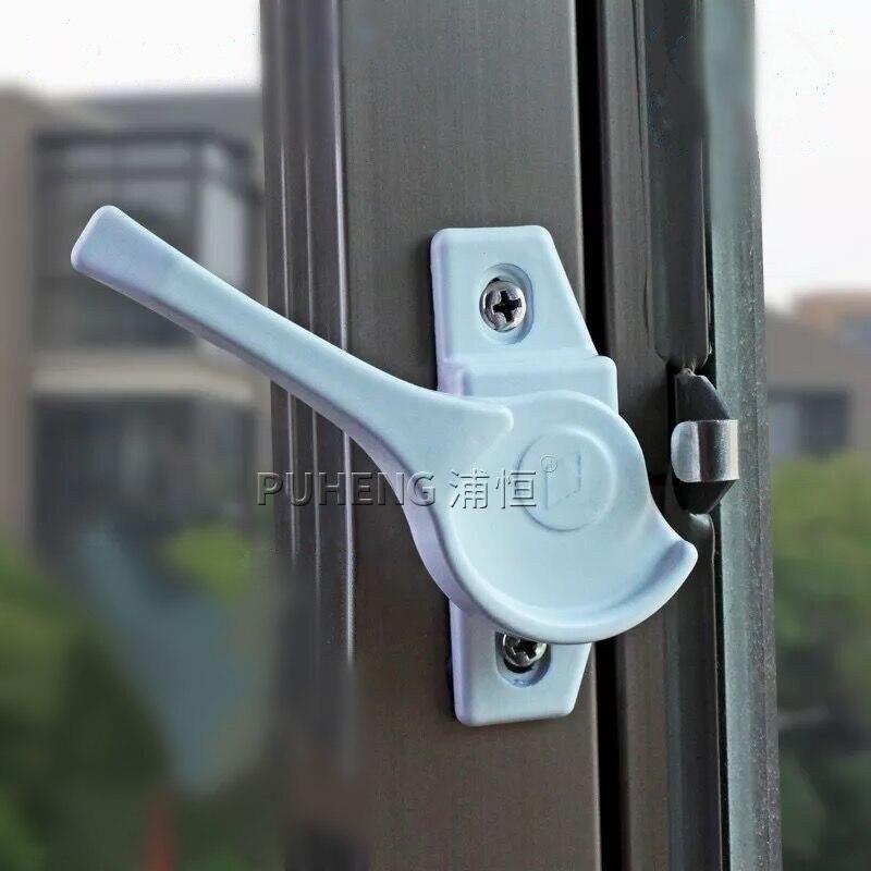 2 Stücke Hochwertige Aluminium Schiebefenster Lock Kinder Der Schiebe Türen Und Windows Crescent Lock Hardware Zubehör
