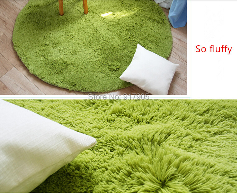 online shop multi color shaggy rugs round area rugs modern shag
