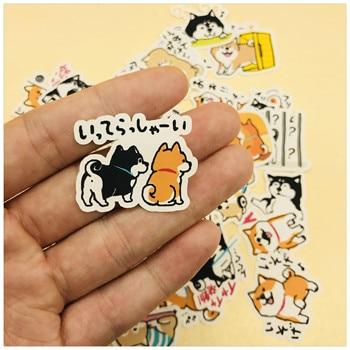 39 PCS\SET Japanese Cute Dog Husky and Shiba Inu Decoration Stationery Sticker Diy Diary Scrapbooking Label Stickers
