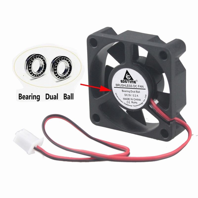 Skywalking 10 pcs Brushless DC Cooling Fan 24V 6010S 11 Blades 3 Wire 60x60x10mm Sleeve-Bearing