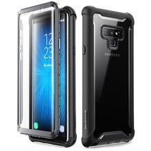 I Blason Samsung Galaxy not 9 için kılıf 2018 Ares serisi tam vücut sağlam temizle tampon durumda dahili ekran koruyucu