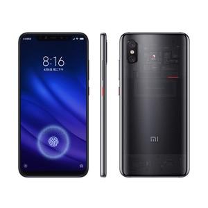"Image 5 - Global Rom Xiaomi mi 8 Pro mi 8 transparente 6GB 128GB pantalla huella Snapdragon 845 Octa Core 6,21 ""Smartphone Cámara Dual"