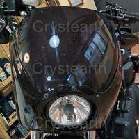 Мотоцикл фар Пластик спереди козырек обтекатель клобук маска для 2006 2016 2013 2014 2015 Harley Dyna Super Glide FXDC Low Rider