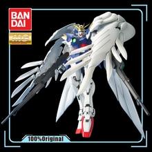 BANDAI MG 1/100 Neue Mobile Bericht Gundam Flügel Endlose Walzer Flügel Gundam Null Effekte Action Figur Modell Änderung