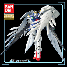 BANDAI MG 1/100 New Mobile Report Gundam Wing Endless Waltz Wing Gundam Zero Effects Action Figure Model Modification