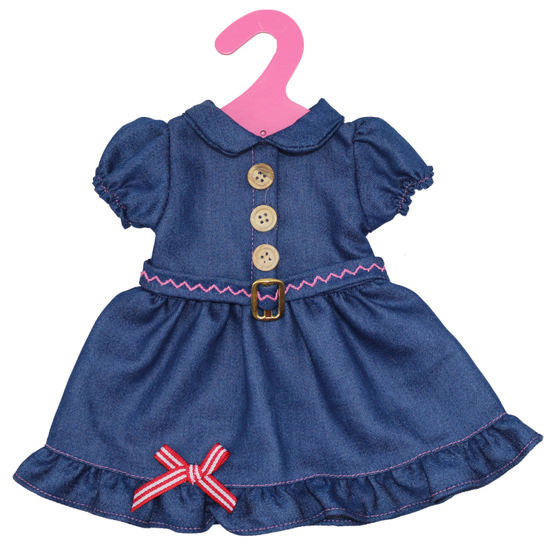Variety-of-multi-color-leisure-suits-Clothes-for-45cm-American-girl-and-Zapf-baby-born-doll-accessories-5