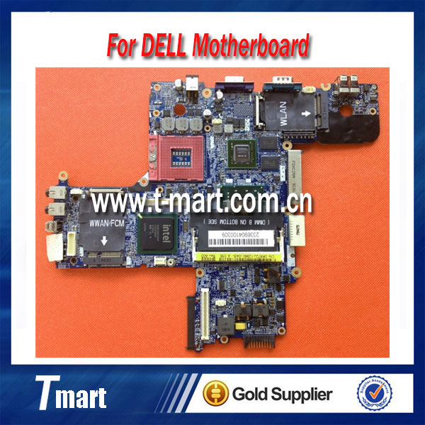 ФОТО 100% working Laptop Motherboard for Dell D630 CN-0R872J R872J System Board fully tested