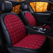 buy red car seat cover and get free shipping on aliexpress com2pcs in 1 fast heated \u0026 adjustable black grey blue red car electric