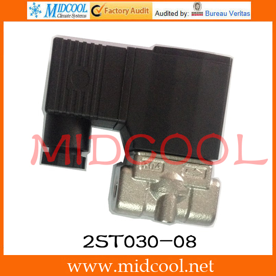 Original AirTAC Fluid control valve (2/2way) 2S Series (Direct-acting and normally closed) 2ST030-08