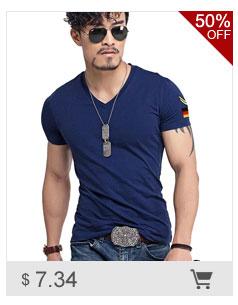 0c53475fb54 Men s Tops Tees 2018 summer new cotton v neck short sleeve t shirt men  fashion trends fitness tshirt free shipping LT39 size 5XL