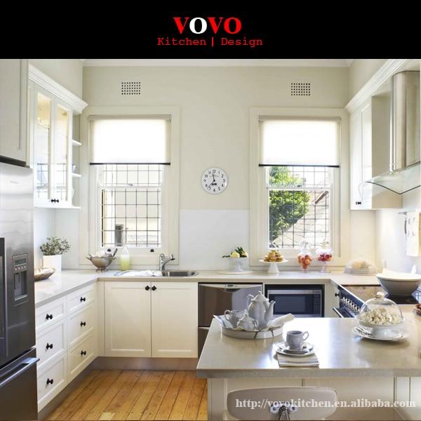 Moderna di alta qualità di lusso bianco piccola cucina mobili in ...