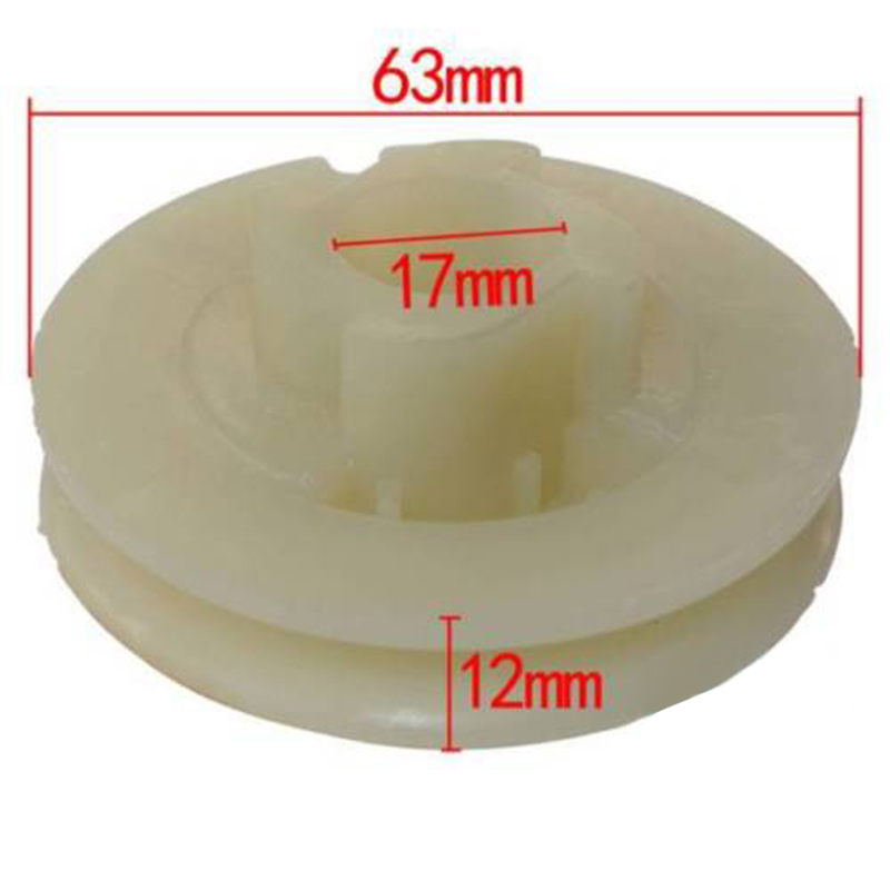 Recoil Starter Start Pull Pulley For Chinese 4500 5200 5800 Chainsaw