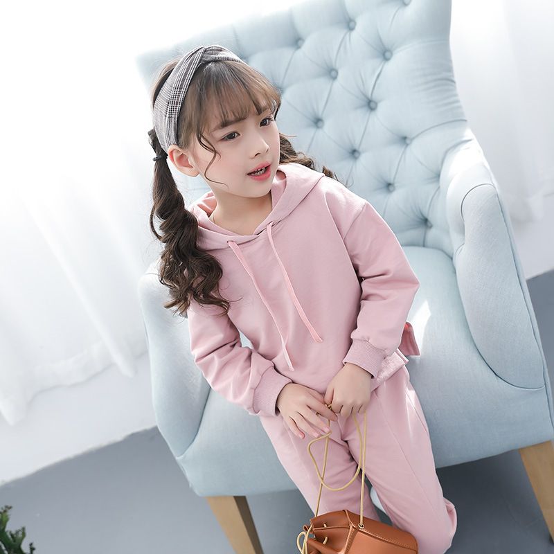 Infant Baby Girls Clothing Sets Spring 2018 Cotton Hoodies Pants 2 Piece Set Girl Kids Costume for Girl Children Clothes 3cs255