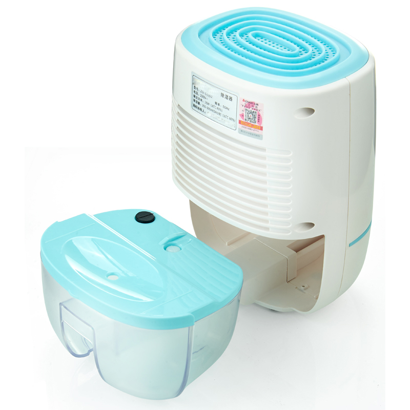 DMWD Portable Mini Semiconductor Dehumidifier Desiccant Moisture Absorbing Air Dryer Thermo-electric Cooling for Wardrobe