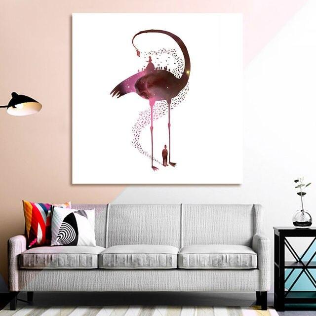 Phantom Flamingo DIY ölgemälde diy digitale malerei digitalen malen ...
