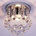 Modern Creative LED Crystal Lamp K9 Crystal Pendant Light Dining Room Living Room Hallway Crystal Light 220V/110V E14 WPL155