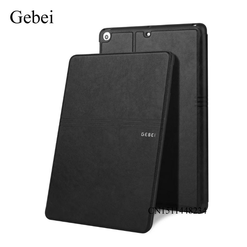 New! for iPad mini Tablet Cover, Gebei luxury Ultra-thin cover, Leather Case, smart sleep/wake up cover for ipad mini 2 mini 3 sgl luxury ultra smart stand cover for ipad air 1 ipad5 case luxury pu leather cover with sleep wake up function for ipad air1
