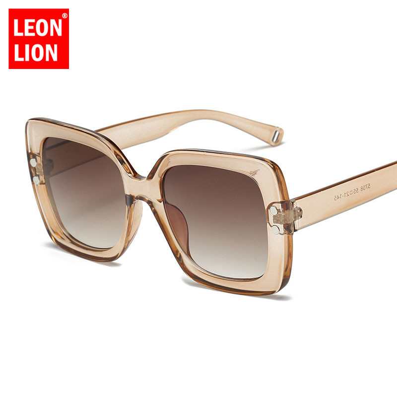 LeonLion New Square Women Sunglasses Brand Designer Vintage Classic Outdoor Shopping Driving Glasses Oculos De Sol Masculino