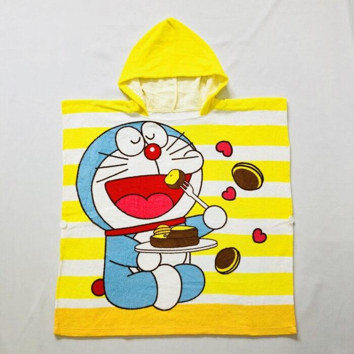Детские Банные халаты с рисунком сердца розы KT, хлопковый свитер с принтом, накидка, банный халат с капюшоном и рисунком животных - Цвет: Cat