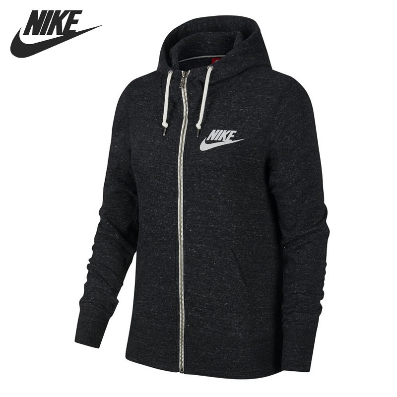 Original New Arrival 2018 NIKE GYM VINTAGE FZ HOODY Women's Jacket Hooded Sportswear original nike men s black knitted jacket hooded sportswear
