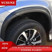 2019 2016 Брызговики для Mitsubishi Pajero Sport Fender Flares для Mitsubishi Montero Sport Pajero 2019 fender Ycsunz