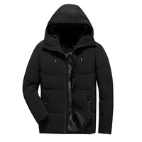 New Men Winter Jacket Fashion Hooded Thermal Down Cotton Parkas Male Casual Hoodies Brand Clothing Warm Coat 4XL parka men
