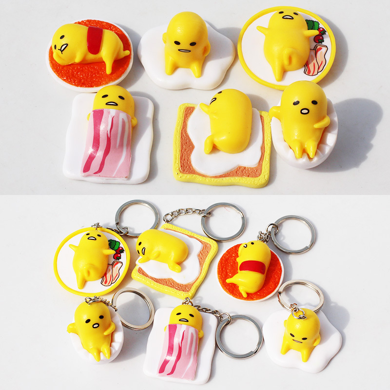 Japanese Anime Cartoon Gudetama Pvc Figure Toy Gudetama