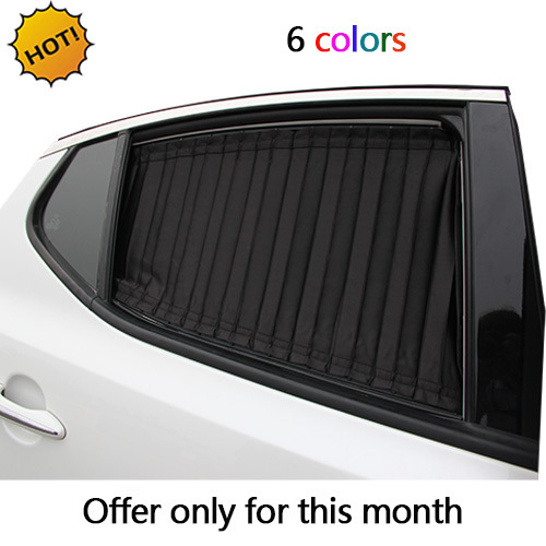 car window curtain cool car covers universal use 6colors protect glass  block windshield sun shade best car styling free shipping 2f9a0b99f4d3