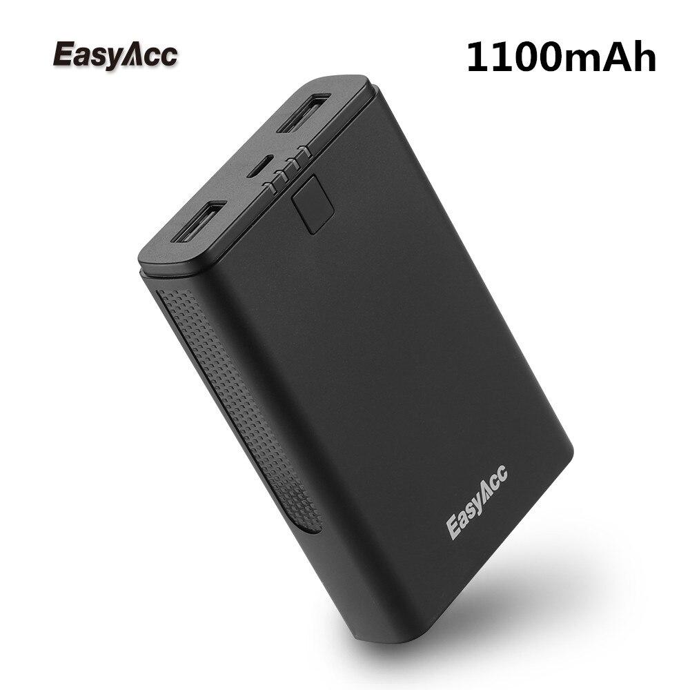 Easyacc Banco Do Poder 11000 mah Dual USB Powerbank Portátil Carregador de Bateria Externa Pack para Telemóveis iPhone Xiaomi Huawei