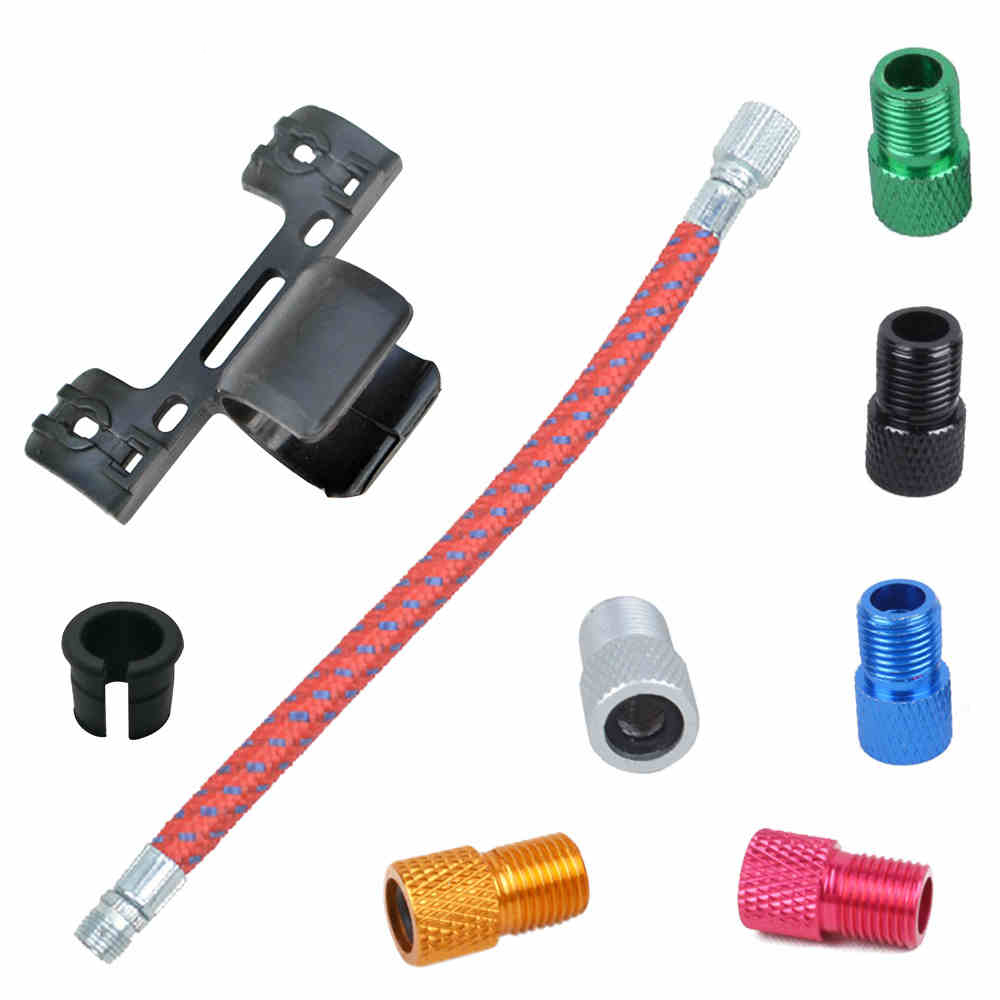 2 Pcs/lot Bicycle Bike Air Tire Valve Adaptor Tube Pump Cap Converter Inner Tubes Pump Presta/schrader Converter Ring Crease-Resistance