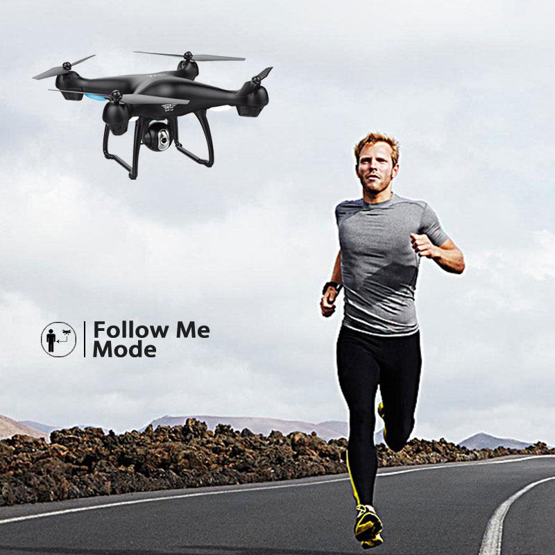 S70W Dual CPS Follow Me RC Drone with HD - დისტანციური მართვის სათამაშოები - ფოტო 2